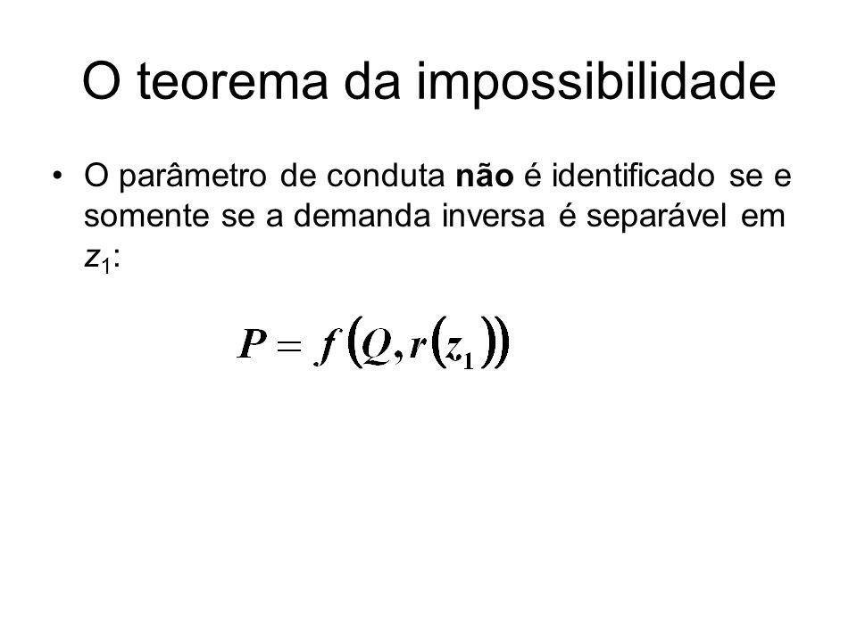 O teorema da impossibilidade