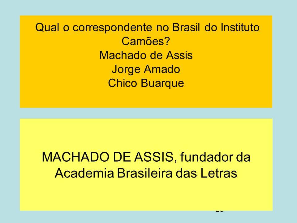 MACHADO DE ASSIS, fundador da Academia Brasileira das Letras