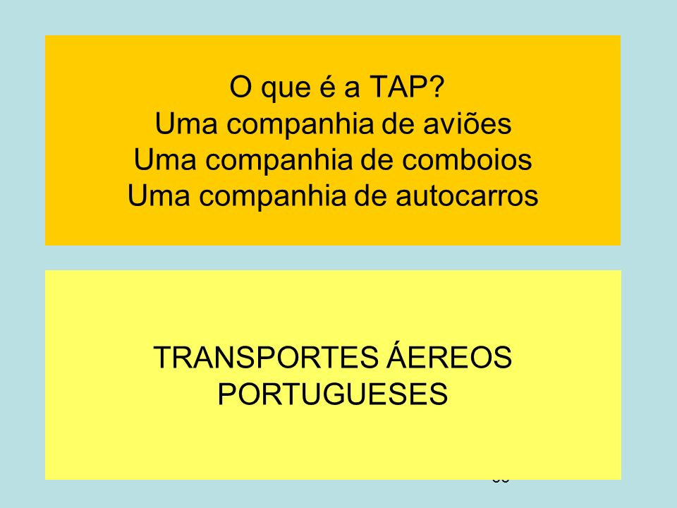 TRANSPORTES ÁEREOS PORTUGUESES