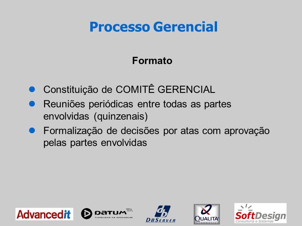 Processo Gerencial Formato Constituição de COMITÊ GERENCIAL