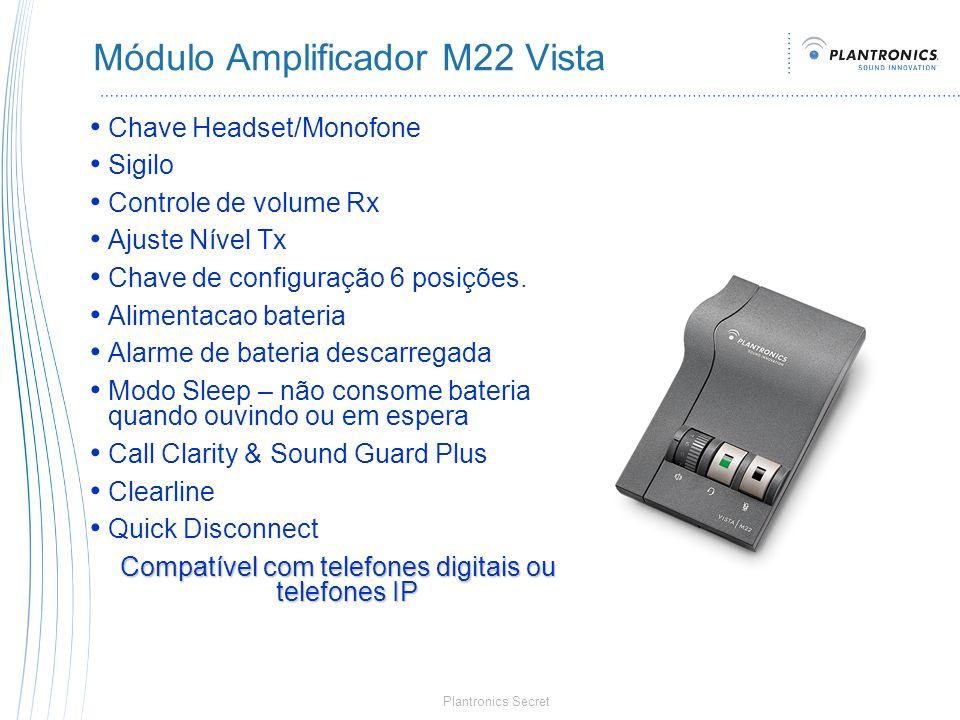 Módulo Amplificador M22 Vista