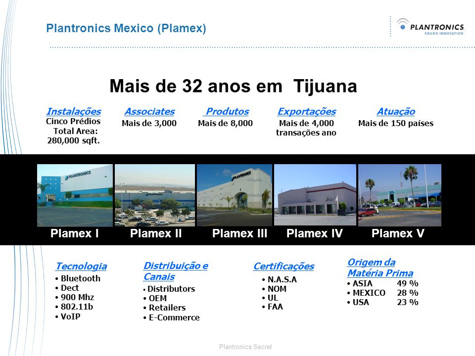 Plantronics Mexico (Plamex)