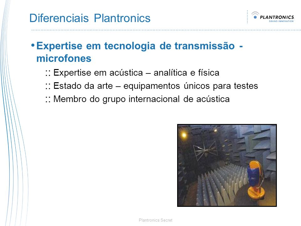 Diferenciais Plantronics