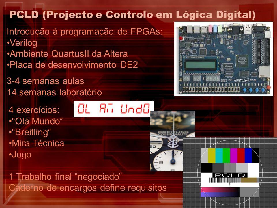 PCLD (Projecto e Controlo em Lógica Digital)