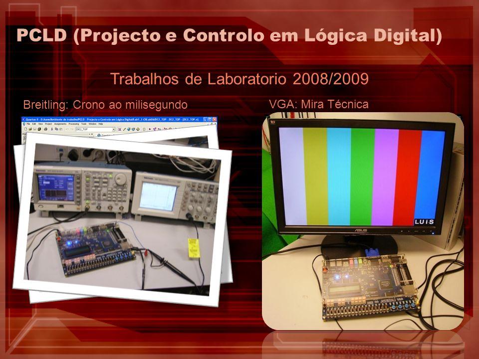 Trabalhos de Laboratorio 2008/2009