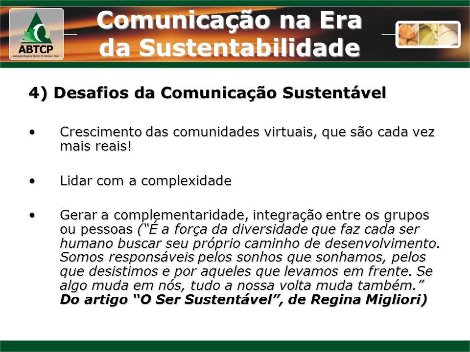 Comunicação na Era da Sustentabilidade