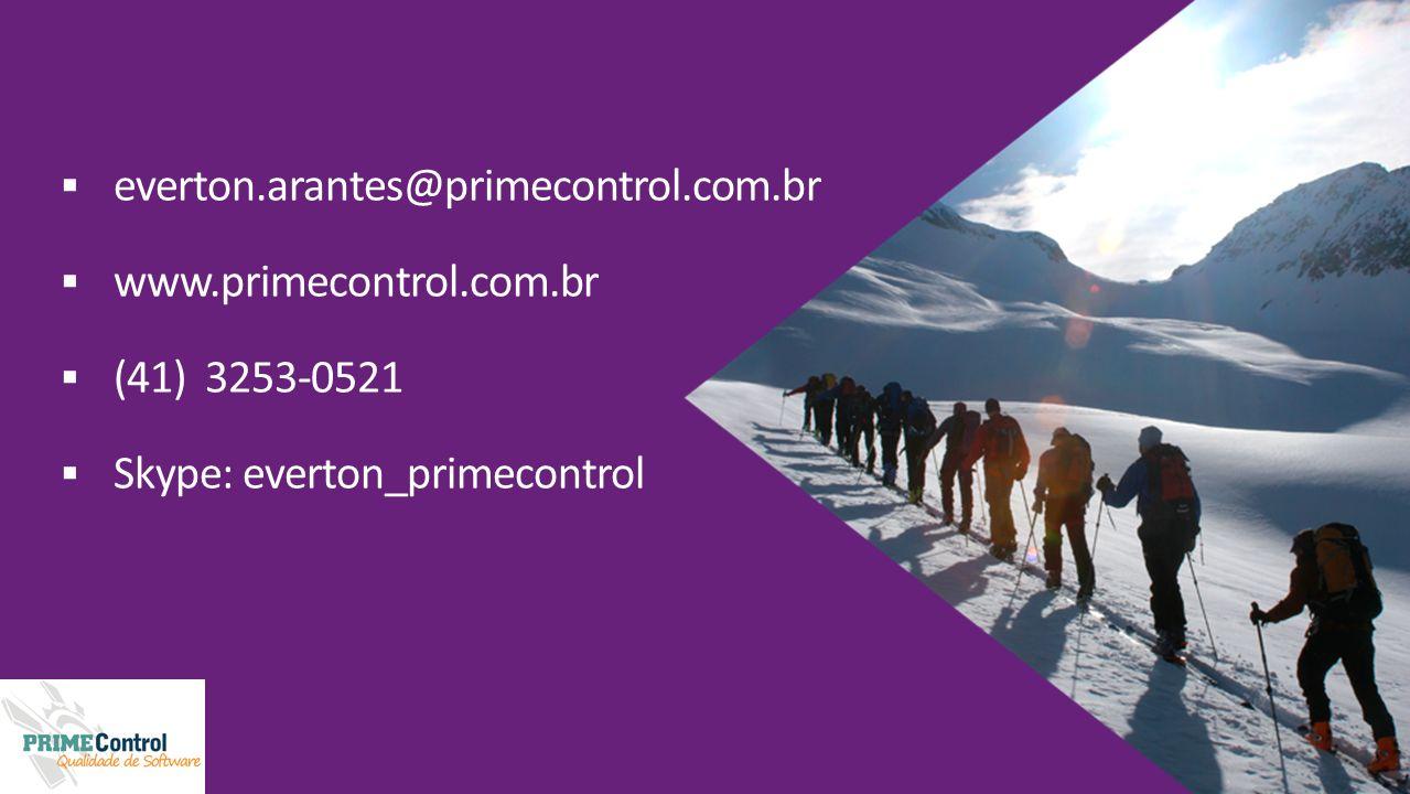 everton.arantes@primecontrol.com.br www.primecontrol.com.br.