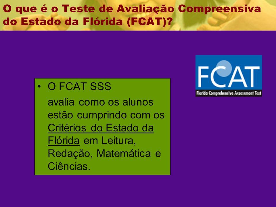 O que é o Teste de Avaliação Compreensiva do Estado da Flórida (FCAT)