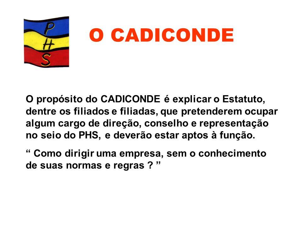 O CADICONDE