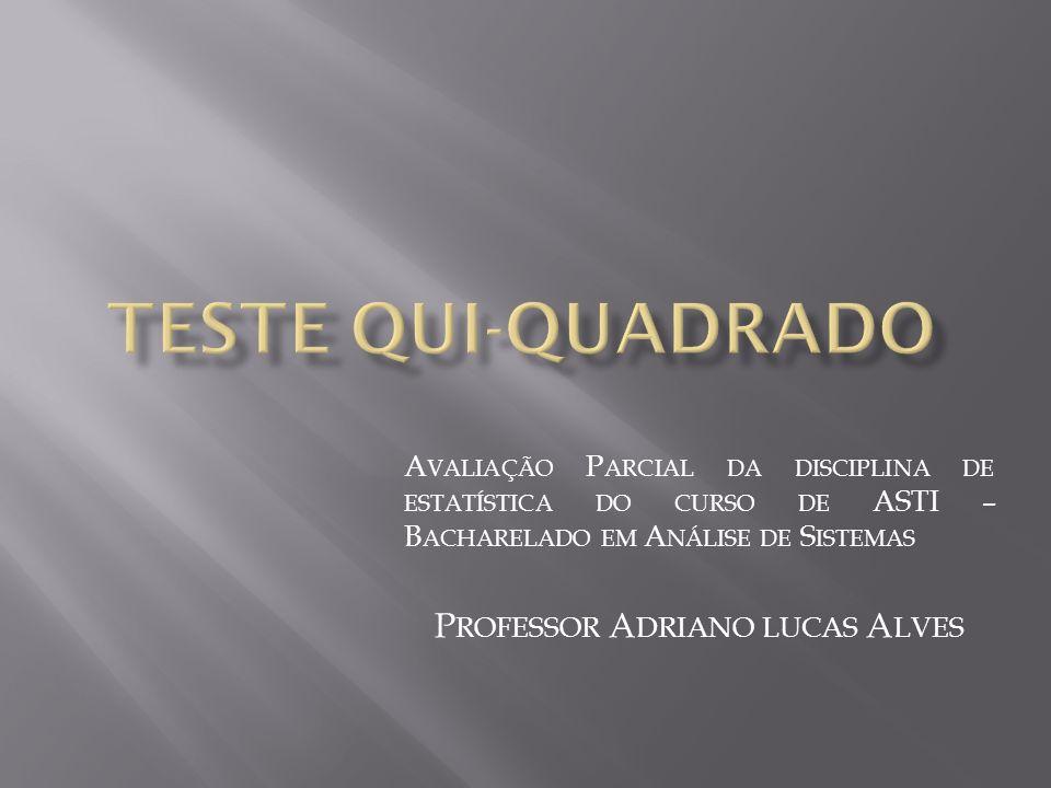 Professor Adriano lucas Alves