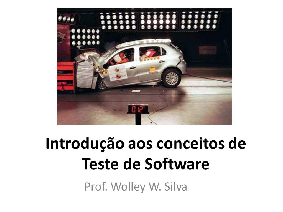 Introdução aos conceitos de Teste de Software