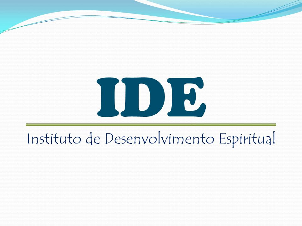 Instituto de Desenvolvimento Espiritual