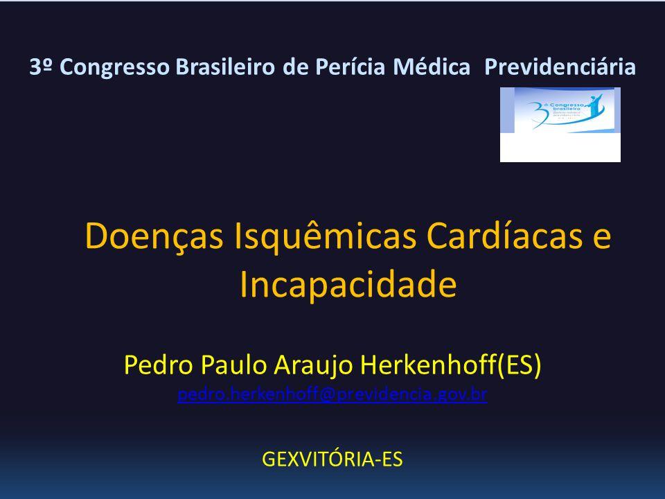 Doenças Isquêmicas Cardíacas e Incapacidade