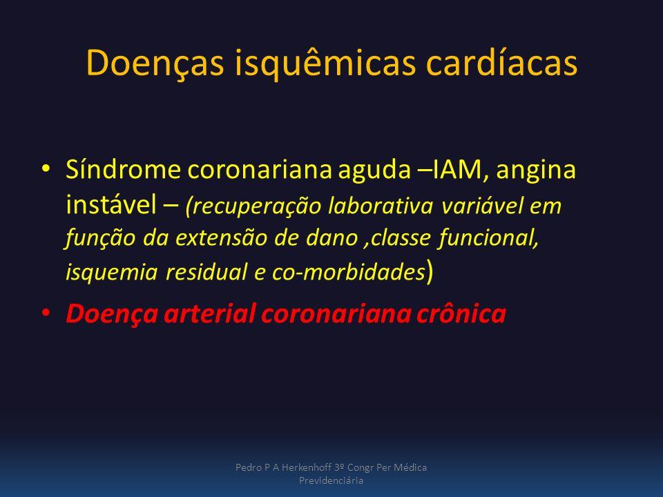 Doenças isquêmicas cardíacas
