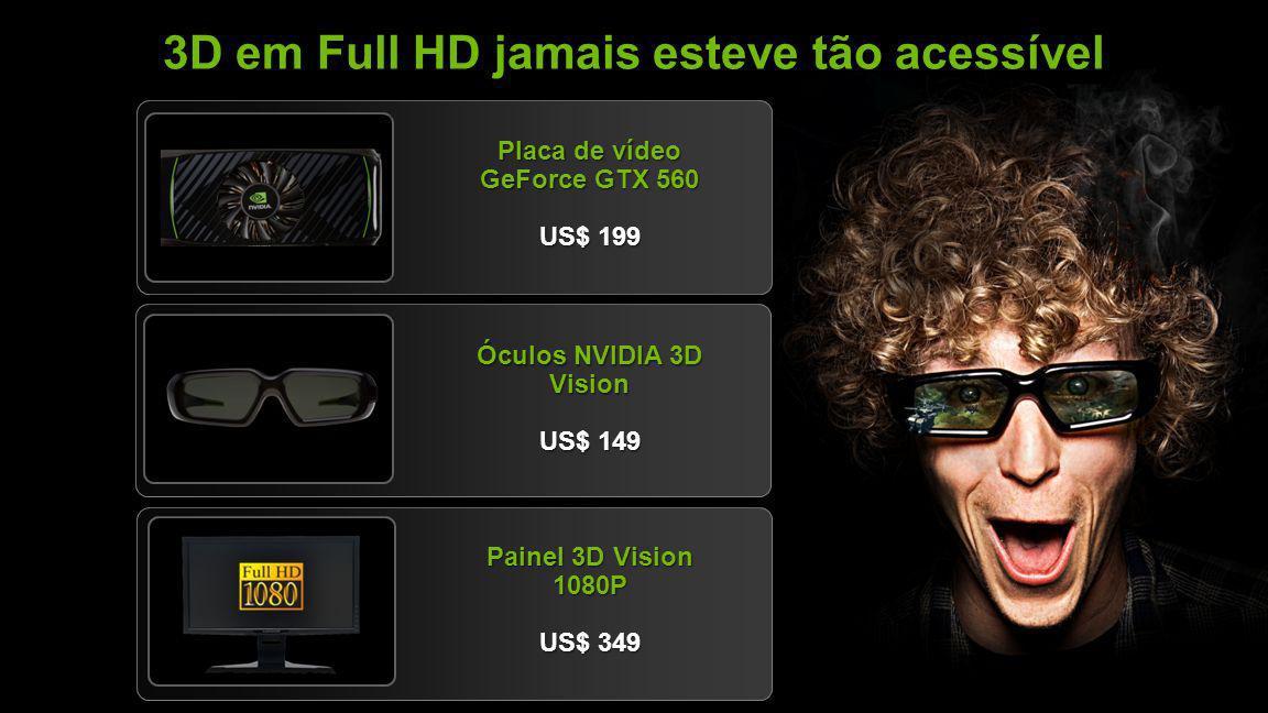 3D em Full HD jamais esteve tão acessível
