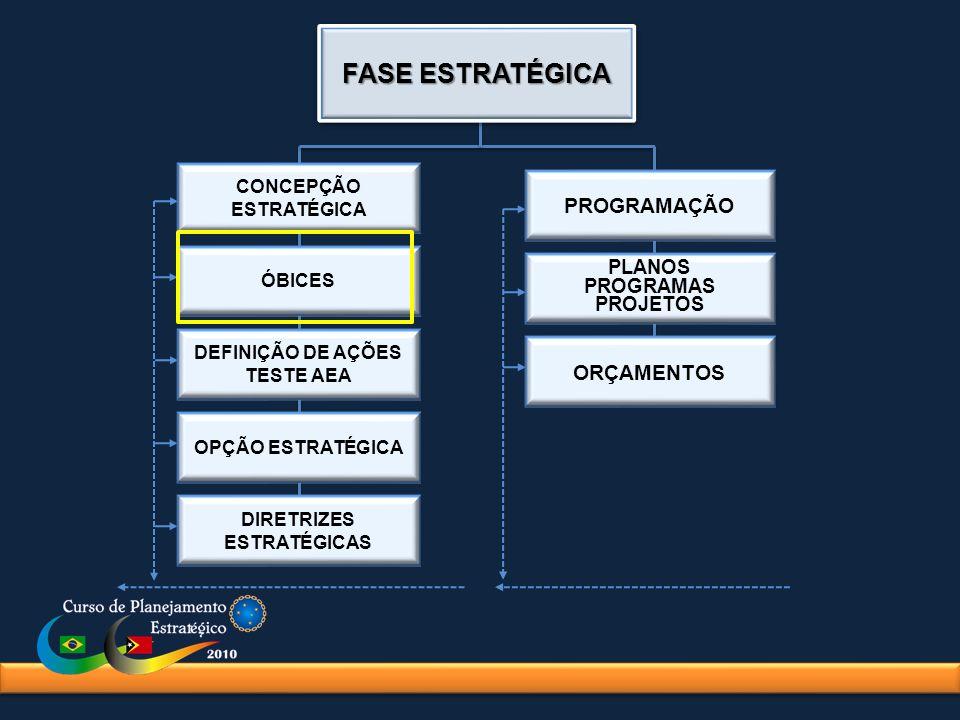 DEFINIÇÃO DE AÇÕES TESTE AEA DIRETRIZES ESTRATÉGICAS