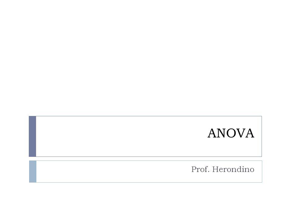 ANOVA Prof. Herondino