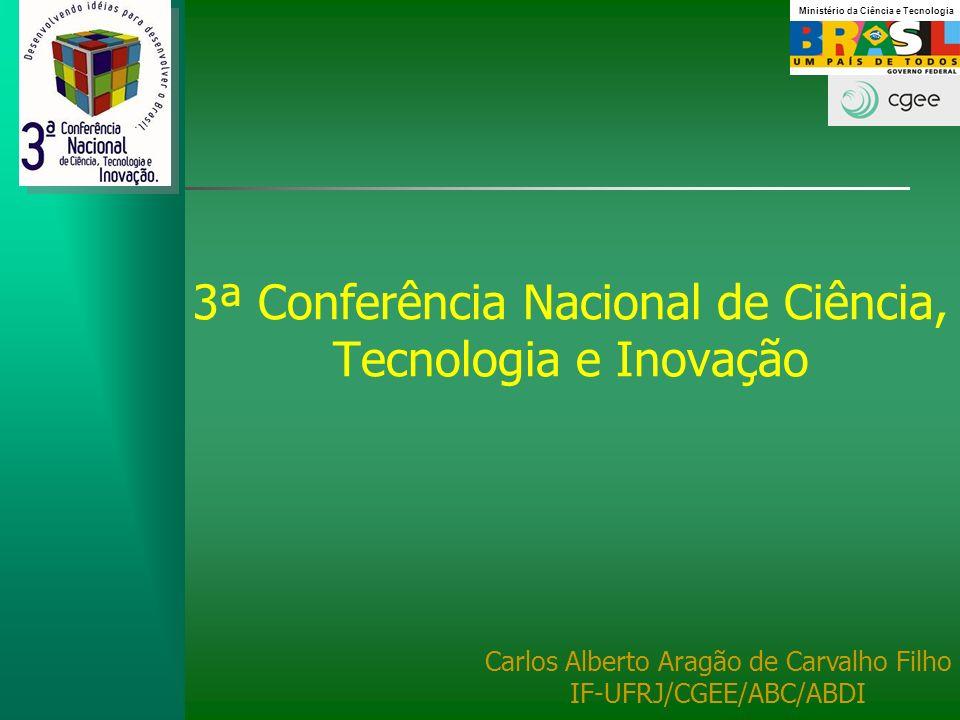 3ª Conferência Nacional de Ciência, Tecnologia e Inovação