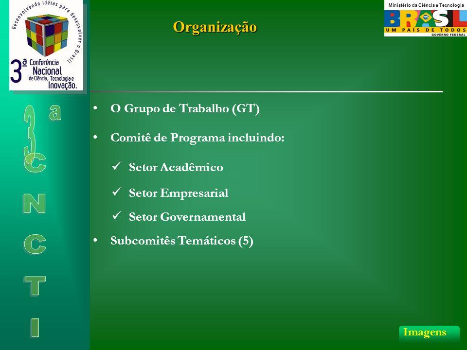 Organização O Grupo de Trabalho (GT) Comitê de Programa incluindo: