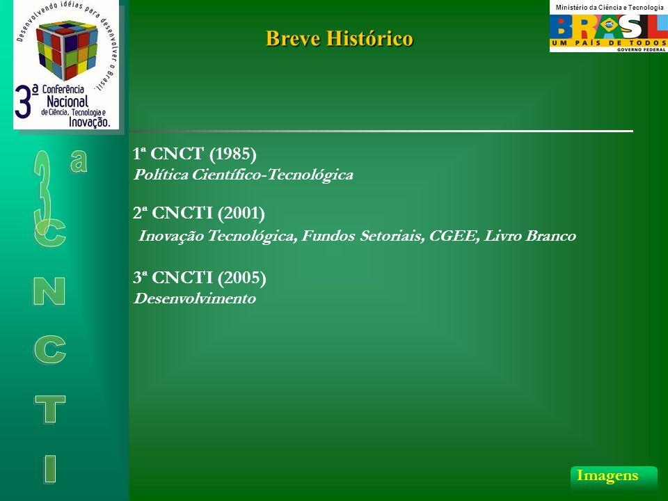 Breve Histórico 1ª CNCT (1985) 2ª CNCTI (2001)