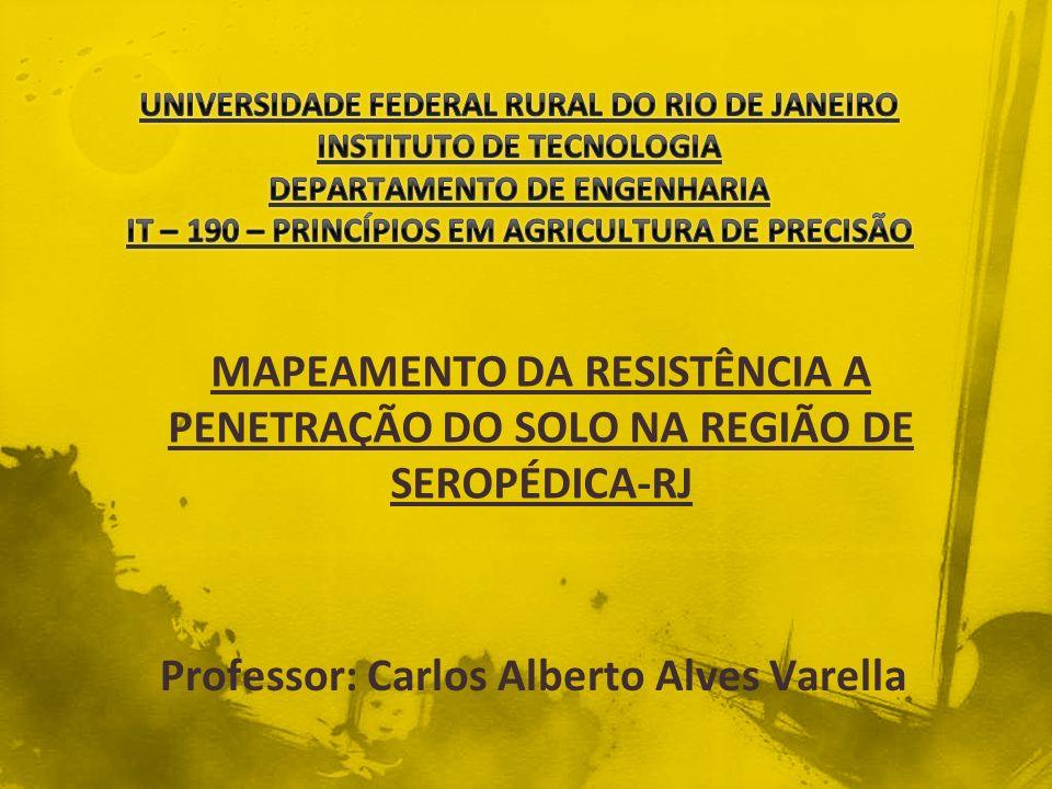 Professor: Carlos Alberto Alves Varella