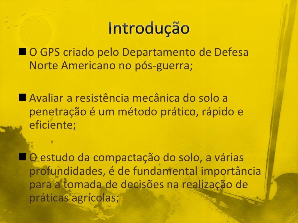 Introdução O GPS criado pelo Departamento de Defesa Norte Americano no pós-guerra;