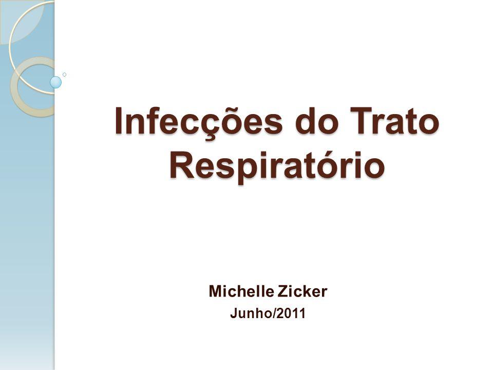 Infecções do Trato Respiratório