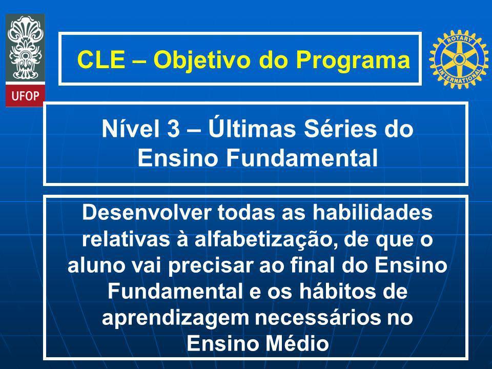 CLE – Objetivo do Programa