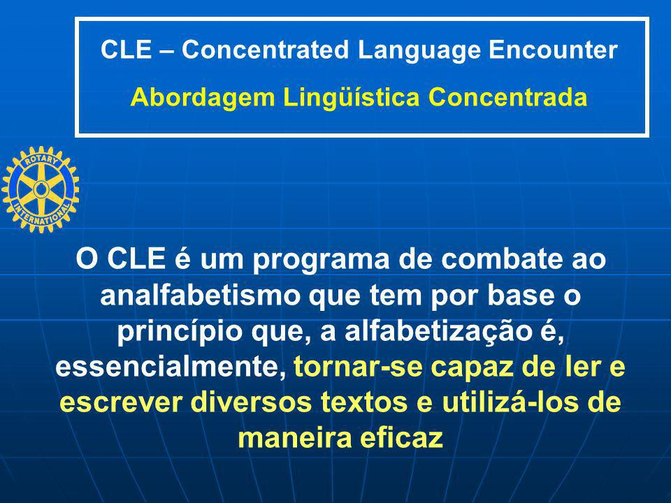 CLE – Concentrated Language Encounter