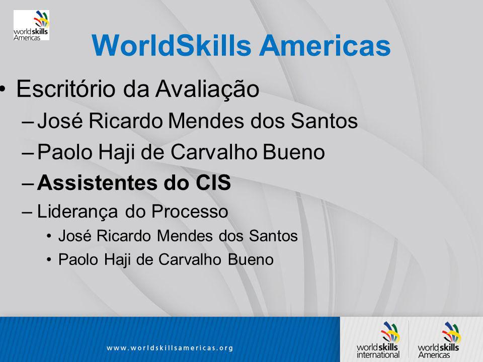 WorldSkills Americas Escritório da Avaliação