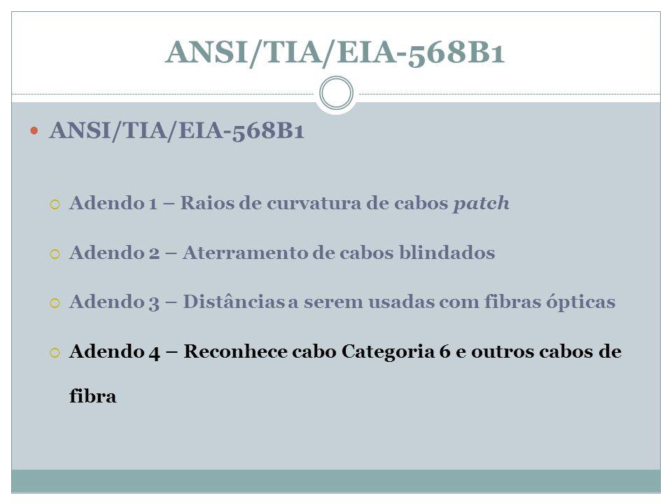 ANSI/TIA/EIA-568B1 ANSI/TIA/EIA-568B1