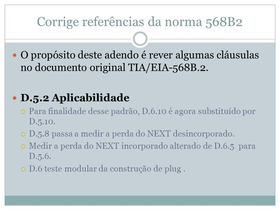 Corrige referências da norma 568B2