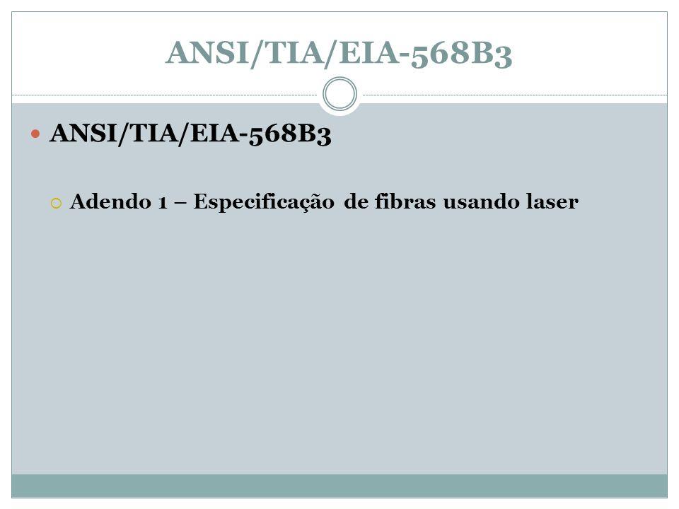 ANSI/TIA/EIA-568B3 ANSI/TIA/EIA-568B3