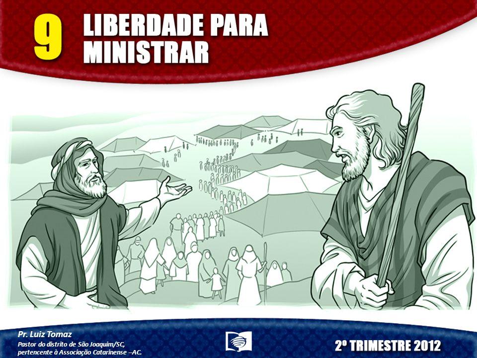 Pr. Luiz Tomaz Pastor do distrito de São Joaquim/SC,