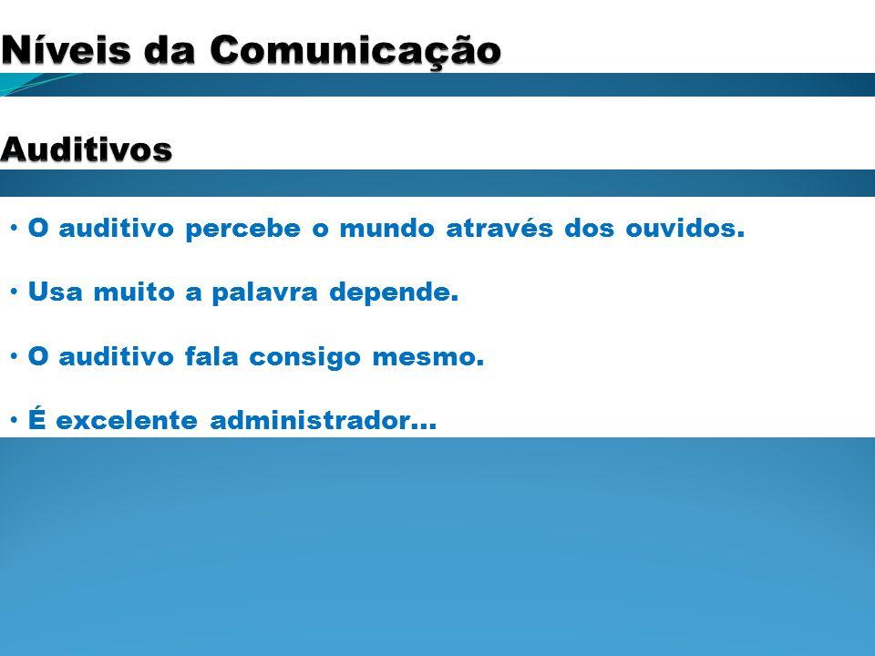 Níveis da Comunicação Auditivos