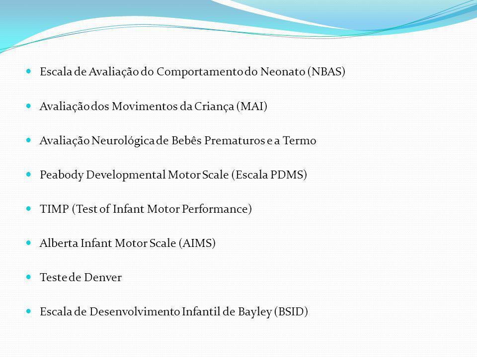 Escala de Avaliação do Comportamento do Neonato (NBAS)