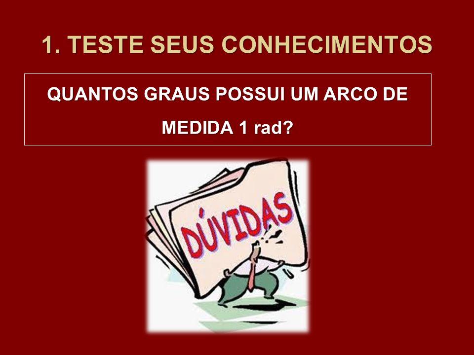 1. TESTE SEUS CONHECIMENTOS