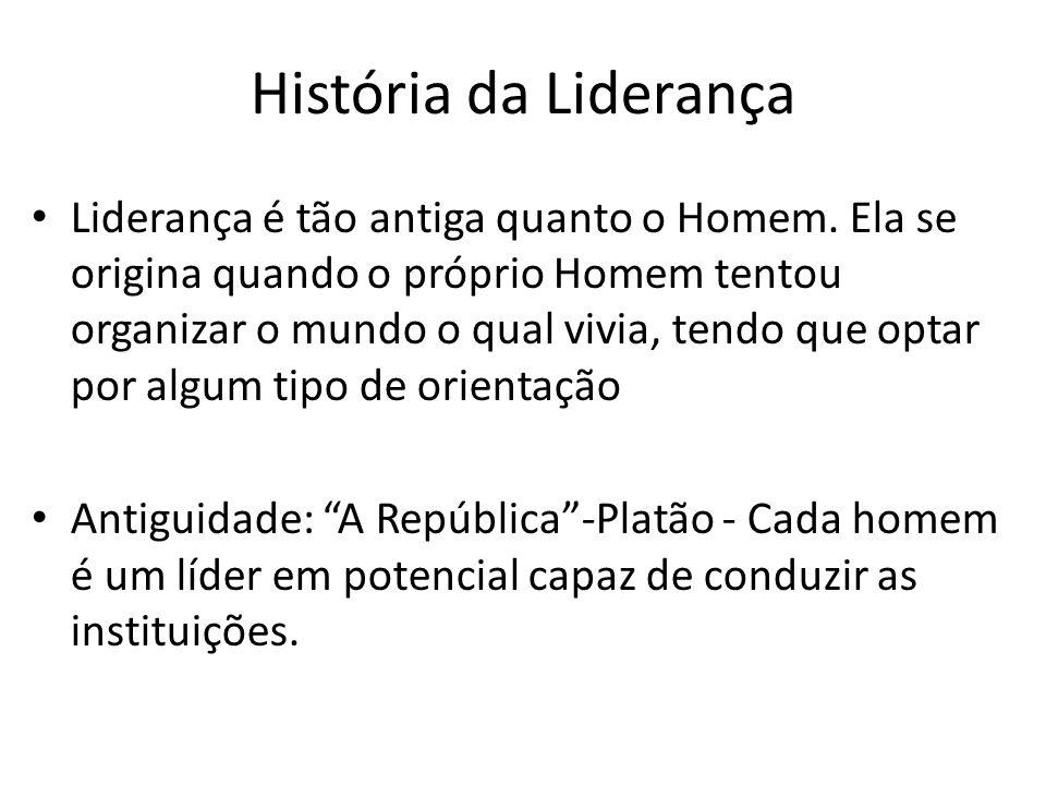 História da Liderança