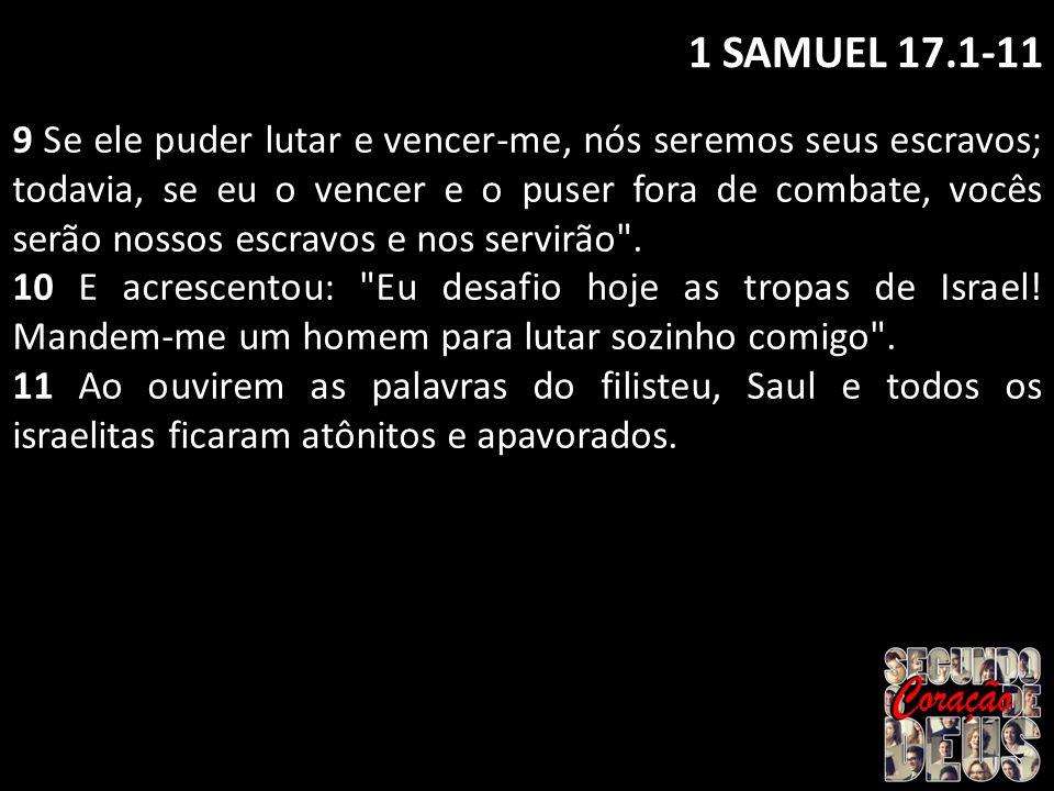 1 SAMUEL 17.1-11