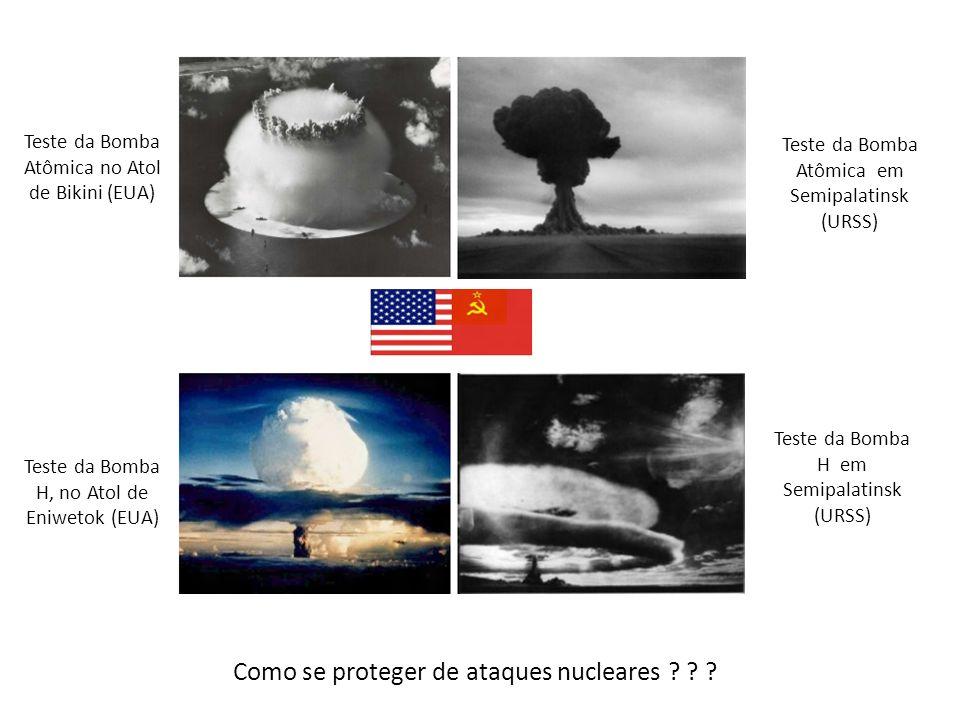 Como se proteger de ataques nucleares