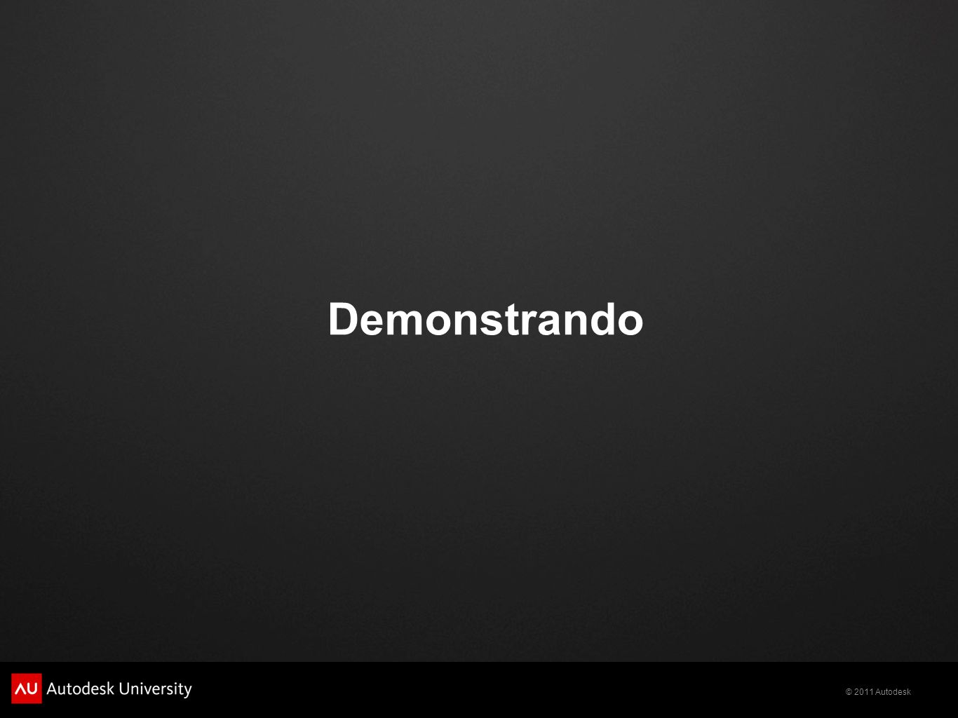 Demonstrando