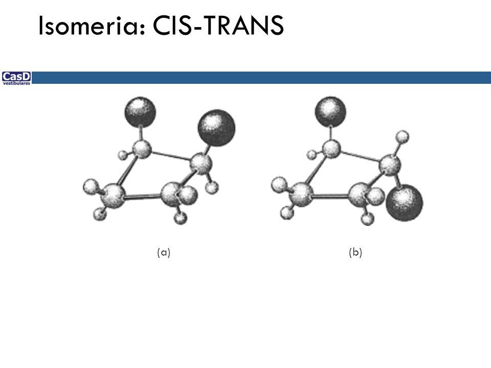 Isomeria: CIS-TRANS (a) (b)