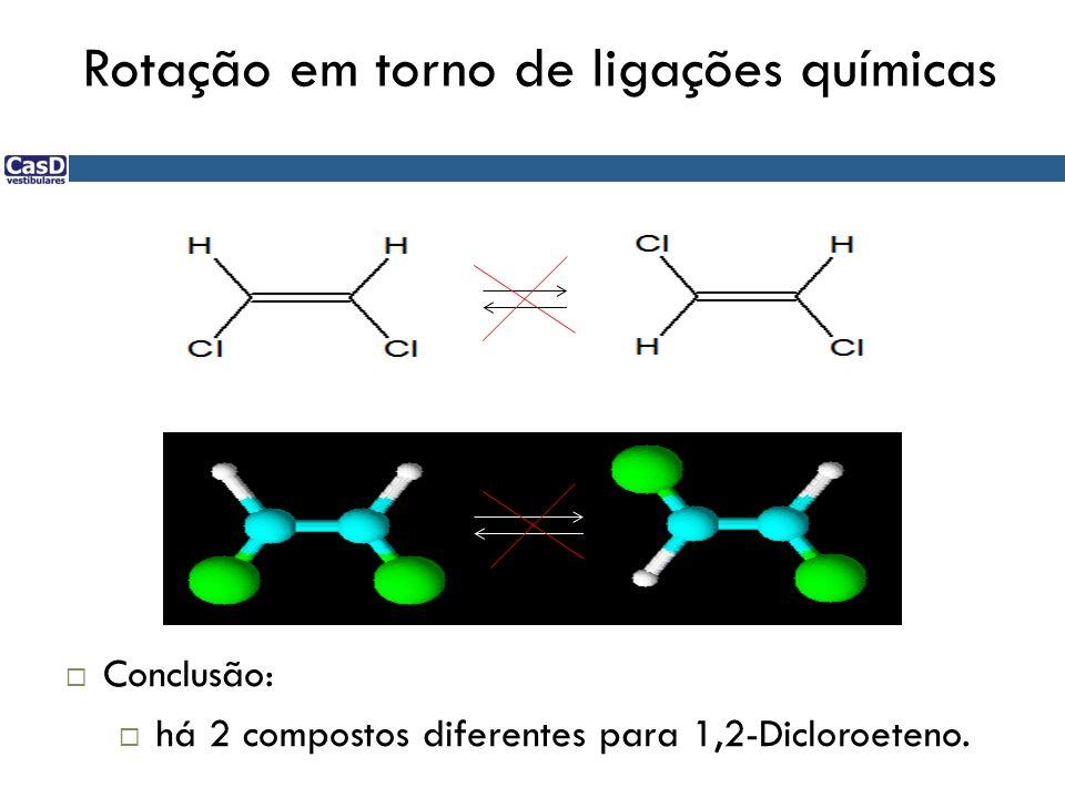Rotação em torno de ligações químicas