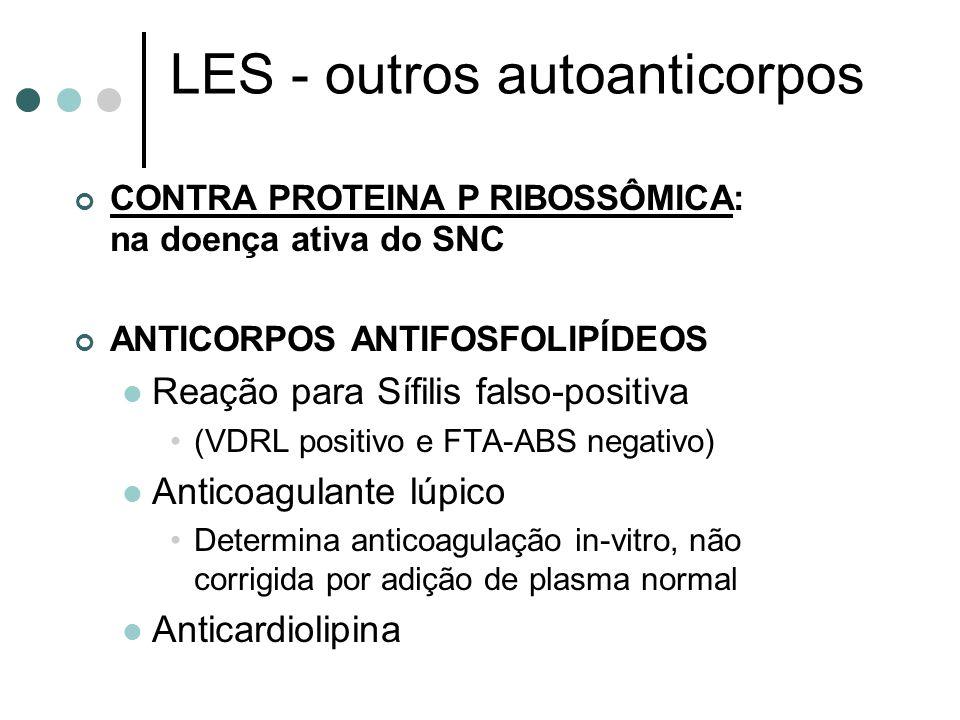 LES - outros autoanticorpos