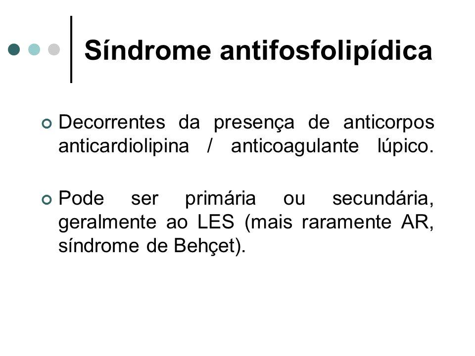Síndrome antifosfolipídica