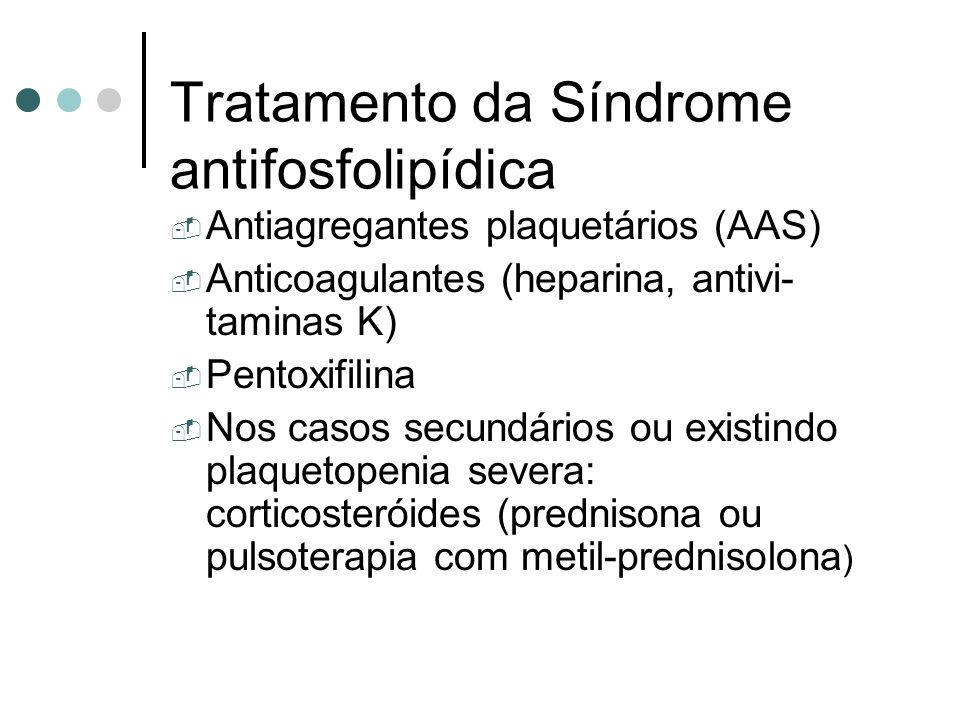 Tratamento da Síndrome antifosfolipídica
