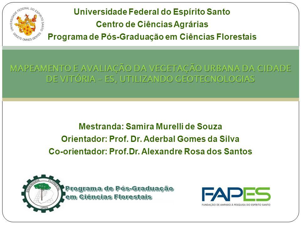 Capítulo I Universidade Federal do Espírito Santo. Centro de Ciências Agrárias. Programa de Pós-Graduação em Ciências Florestais.