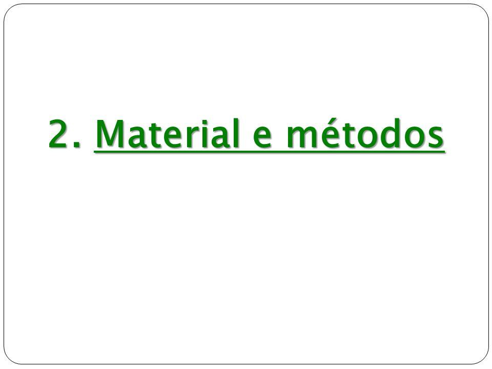 2. Material e métodos