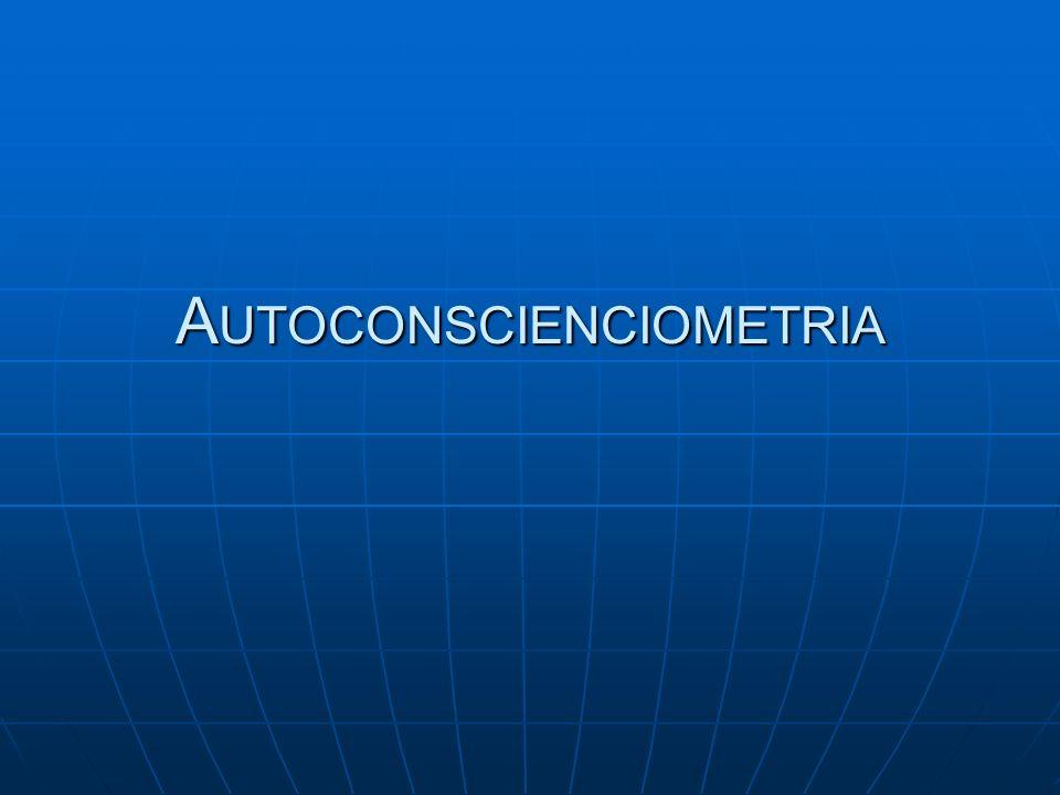 Autoconscienciometria
