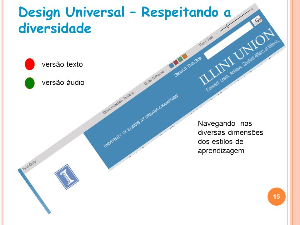 Design Universal – Respeitando a diversidade